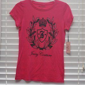 NWT Juicy Couture Glitter and Rhinestone Shirt